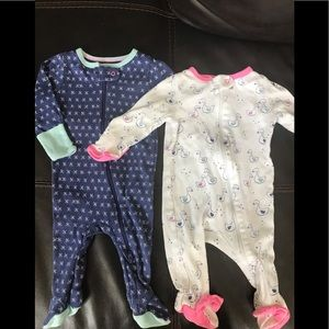 Cloud Island 0-3 months sleepers (girl)